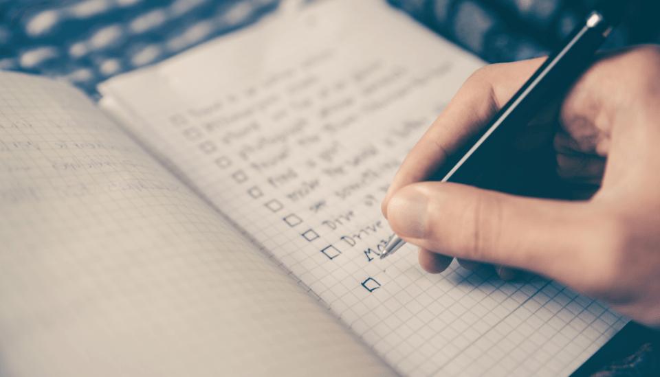 Listas para descobrir como melhorar suas qualidades